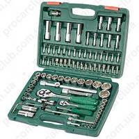 """Набор инструмента  94 предм. 1/4""""DR 4-14мм и 1/2""""DR 10-32 мм, HANS  (TK-94)"""