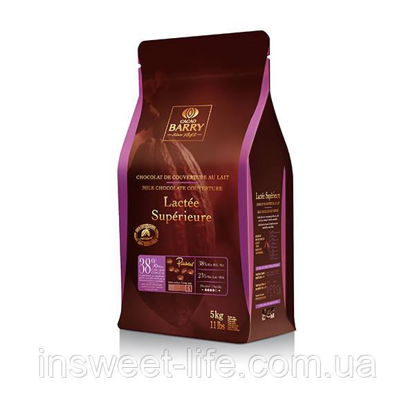 Шоколад молочный Cacao Berry Lacte Superioure  38,0% 5кг/упаковка