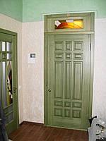 "Двери ""Квадро"". Массив - сосна."