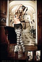 Колготки Checkerboard Pantyhose