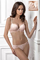 Изысканный комплект белья нежно-розового цвета JESI 1163/40 ADRIANA 2128/40 Jasmine Lingerie