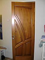 """Двери """"Салют"""". Массив - сосна."""