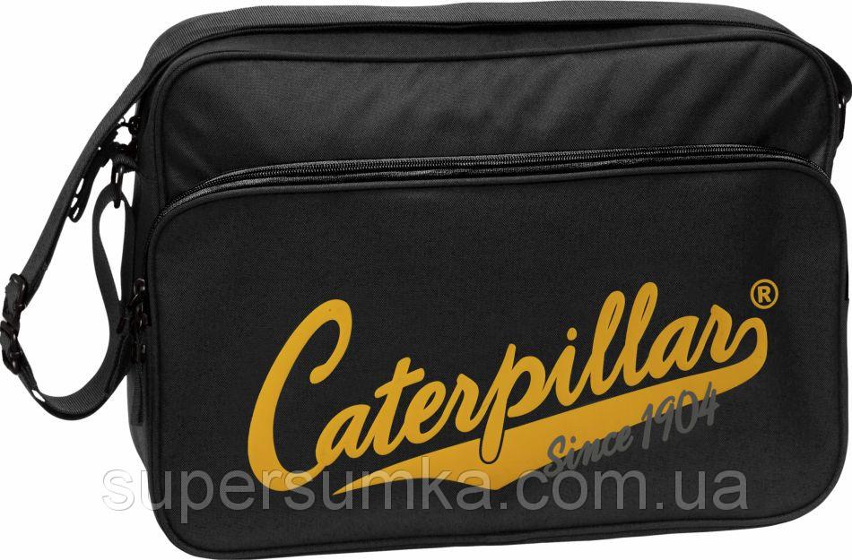 """Сумка с отделением для ноутбука 15,6"""" CAT Heritage 1904,  82601;01 черный"""