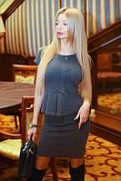 Женский костюм кофточка и юбка Косичка 3Д