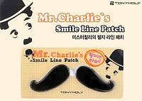Гидрогелевые патчи для носогубной зоны Tony Moly Mr. Charlie's Smile Line Patch