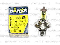 Галогенка H4 NARVA 12V 60/55W  RY  Contrast+50% RY