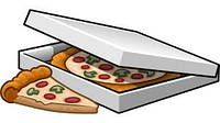Коробка для пиццы 30 см прямоугольная