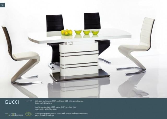 Стіл розкладний скляний Gucci Signal / Стол раскладной стеклянный