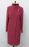 Женское кашемировое пальто больших размеров