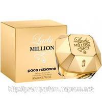 Женская туалетная вода Paco Rabanne Lady Million (свежий цветочный аромат)  AAT