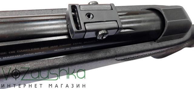 стопор на 11 мм базе ласточкин хвост для крепления оптики