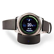 Зарядное устройство беспроводное QI ITIAN для Samsung Gear S3 Frontier S3 S2 Classic черный, фото 3