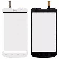 Сенсор (тач скрин) LG Optimus L70 D325 white