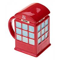Кружка LONDON красная телефонная будка