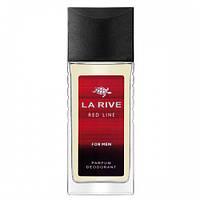 Мужской парфюмированный дезодорант LA RIVE RED LINE 80 мл
