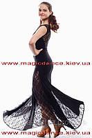 """Платье стандарт с гипюром """"Парижанка"""""""