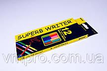 """Карандаши цветные """"MARCO"""" Superb Writer,№4110-12CB,двухсторонний (12 шт/24 цвета)"""