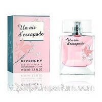 Женская туалетная вода Un Air d'Escapade Givenchy (нежный, беззаботный, вкусный цветочный аромат)  AAT