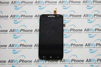 Дисплейный модуль для мобильного телефона Lenovo A859 черный