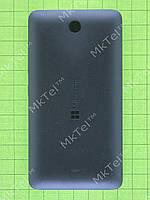 Задняя крышка Lumia 430 Dual SIM с кнопками Оригинал Черный