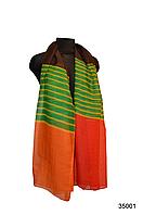 Шарф Соня оранжево-красный, фото 1