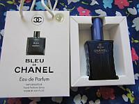 Парфюмированая туалетная вода Chanel Bleu de Chanel (Блю де Шанель) в подарочной упаковке 50 мл.