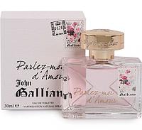 Туалетная вода John Galliano Parlez-Moi d`Amour (женственный аромат со сладкими, искрящимися нотами)  AAT