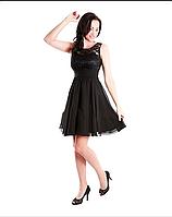 Платье коктейльное Валентино  черный