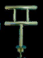 Кнехт причальный П-образный из нержавейки для швартовки