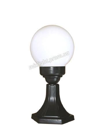 Садово парковый светильник столбик шар Delux PALACE D04