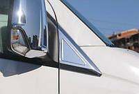 Хром накладка треугольник Volkswagen Crafter