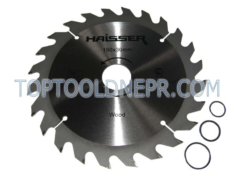 Пильный диск HAISSER 190х30х24зубов