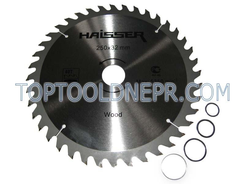 Пильный диск HAISSER 250х32х40зубов