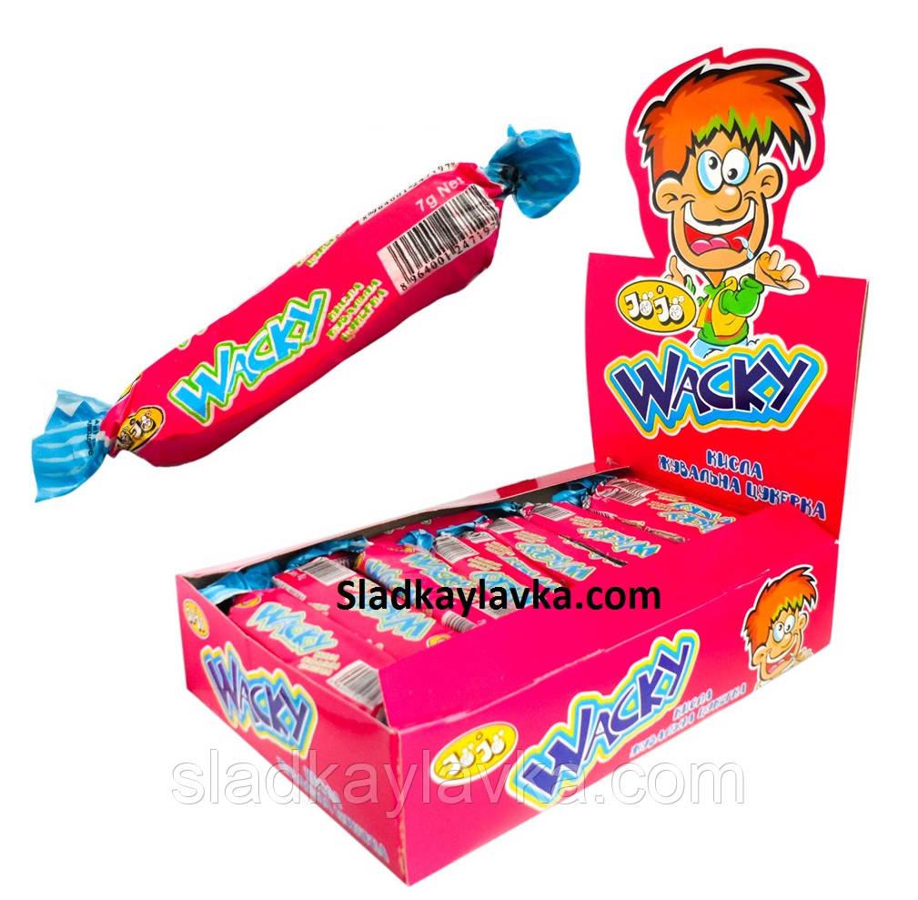 Жевательная конфета Wacky 50 шт (Jo Jo Пакистан)