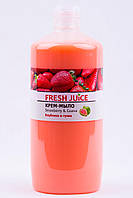 Жидкое мыло запаска   Fresh Juice   Клубника и Гуава, 1000 мл,