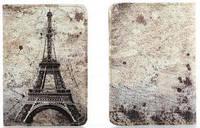 Обложка на паспорт из мягкой кожи Париж