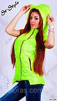 Женская жилетка с ушками, фото 1