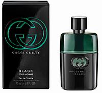 Мужская туалетная вода Gucci Guilty Black Pour Homme (сильный, яркий аромат для уверенных в себе мужчин)  AAT