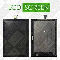 Модуль для планшета Lenovo Tab 2 X30F A10-30, черный, дисплей + тачскрин, WWW.LCDSHOP.NET , #1
