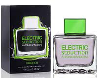 Мужская туалетная вода Electric Seduction In Black for Men Antonio Banderas (свежий,фруктовый, цитрусовый) AAT