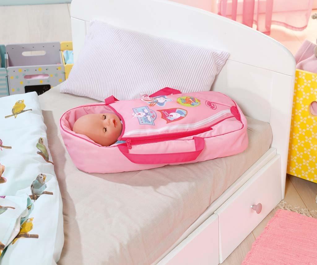 Люлька переноска 2 в 1 Сладкие сны с подушкой для куклы Беби Борн Baby Born  Zapf Creation 822203 c0002e9007886