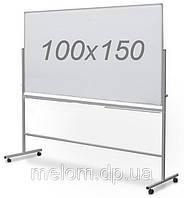 Доска поворотная двухсторонняя на колесах 100х150 см для маркера, фото 1