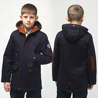 Модная весенняя куртка парка  для мальчика