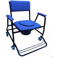 Кресло-каталка с санитарным оснащением Herdegen Club XXL , фото 1