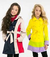 Куртки демисезонные для девочек