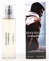 Мужская туалетная вода Davidoff Champion  ОАЭ Tester 40 ml (Давидов Чемпион) древесный, фужерный аромат DIZ