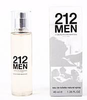Мужская туалетная вода 212 MEN Carolina Herrera Tester 40ml ОАЭ DIZ /00-03