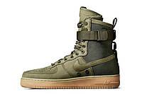 Мужские кроссовки  Nike Air Force SF1 Green