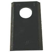 Нож роторной косилки BALMET 94x50x4Ø20.5-24.3 Stoll 13800001