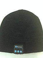Зимняя шапка со встроенной Bluetooth-гарнитурой Music Hat. Темно-серая.